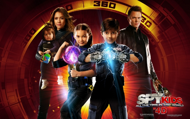 Дети шпионов 4D (Spy Kids: All the Time in the World)
